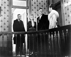 Dorothy Comingore - Ray Collins, Dorothy Comingore, Orson Welles and Ruth Warrick in Citizen Kane