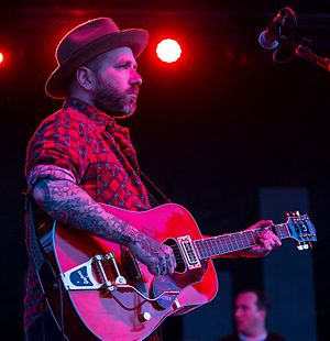 Dallas Green (musician) - City and Colour performing at Fun Fun Fun Fest 2014 in Austin, Texas