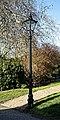 City of London Cemetery and Crematorium - roadside street lamp 1.jpg