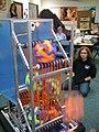 Clark HS FIRST robot 2009.jpg