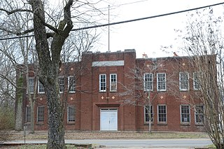 Clarksville National Guard Armory United States historic place