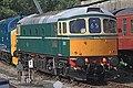 Class 33 D6501 (33002) Buckfastleigh South Devon Railway 31-07-2018 (29993622658).jpg