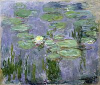Claude Monet Nympheas 1915 Musee Marmottan Paris.jpg
