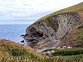 Cliffs at Worbarrow - geograph.org.uk - 2023517.jpg