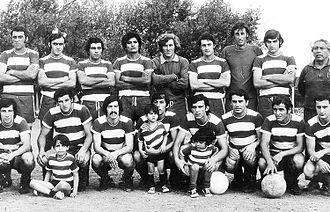 Club Atlético Acassuso - The team that won the 1971 Primera D title.
