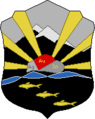 Coat of Arms of Omsukcansky rayon (Magadan oblast).png