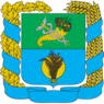 Coat of Arms of Shevchenkivskiy Raion in Kharkiv Oblast.png