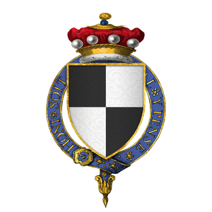 Thomas Hoo, Baron Hoo and Hastings - Arms of Sir Thomas Hoo, 1st Baron Hoo and Hastings, KG