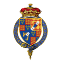 Coat of arms of George FitzRoy, 1st Duke of Northumberland, KG.png