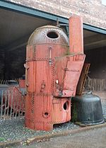 Vertical Boiler With Horizontal Fire Tubes Wikipedia