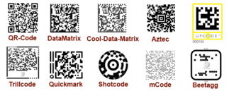 Mobile tagging - Image: Codes 4