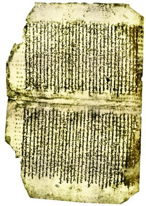 Codex Dublinensis - Page of the codex