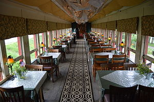 Colebrookdale Railroad - Dining car