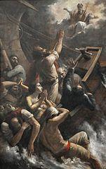 Saint Nicolas apaisant la tempête