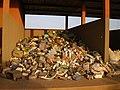 Collected plastic material as raw material - Matière plastique collecté comme matière première (3267338566).jpg