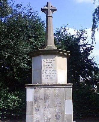 Collyhurst - Collyhurst War Memorial