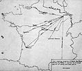 Colombey-les-Belles Aerodrome - Distance Map.jpg