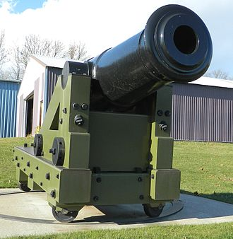 Seacoast defense in the United States - 50-pounder Model 1811 Columbiad (7.25 inch or 184 mm bore) built for Second System forts