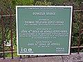Commemorative plaque, Dunkeld bridge - geograph.org.uk - 1505917.jpg