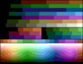 CommodorePlus4 palette color test chart.png