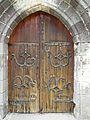 Compains église portail pentures.JPG
