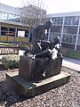 Compassion - Statue outside the Selly Oak Hospital Out-Patients Department (4413173861) (2).jpg