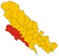Comunità Montana della Riviera Spezzina-mappa 2008.png