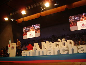 Galician Nationalist Bloc - Anxo Quintana speaking at the 2006 National Assembly