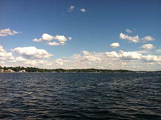 Conneaut Lake - Image: Conneaut Lake Panorama