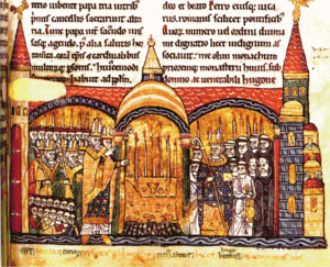 The consecration of Cluny III by Pope Urban II.[1]