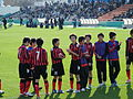 Consadole Sapporo Youth U-15, after the game, 20091227-07.jpg