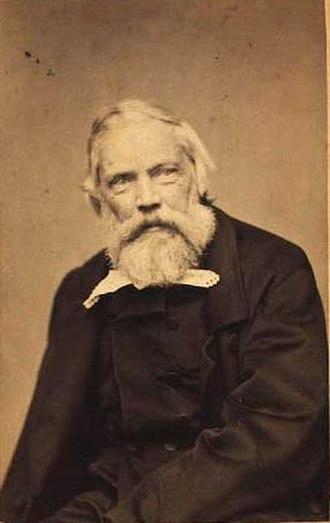 Constantin Hansen - Gansen photographed in circa 1880