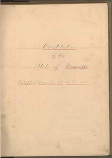 Constitution of Mississippi