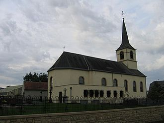 Contern - St. Walpurga's church