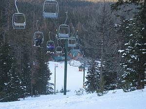 Cooper Spur ski area - Image: Cooper Spur