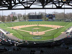 Cooper Stadium - Image: Cooper stadium interior