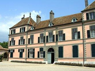 Coppet Castle - Image: Coppet Schloss