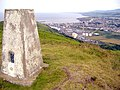 Corrins Hill trig point, Isle of Man - geograph.org.uk - 196311.jpg