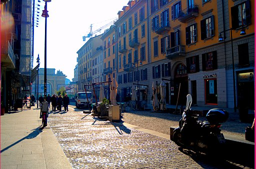 Voyage mode a Milan