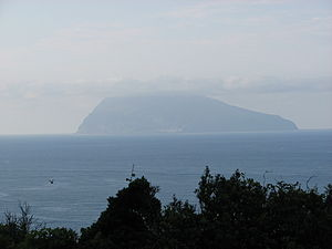 Corvo island seen from Flores Azores.JPG