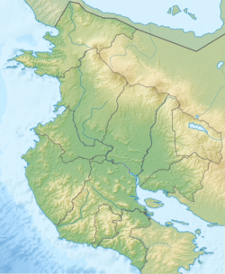 Costa Rica Guanacaste relief map.png