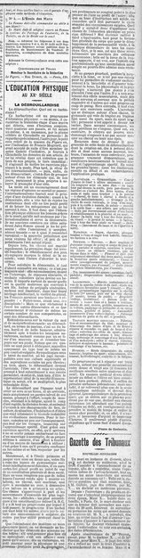 Coubertin Figaro Education Physique au XX siecle 1902 03.djvu