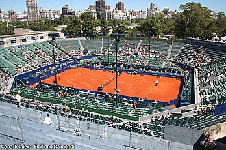 Buenos Aires Lawn Tennis Club - Main court of Buenos Aires Lawn Tennis Club
