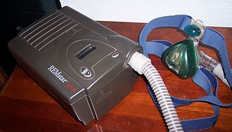 Obesity-associated morbidity - CPAP machine commonly used in OHS
