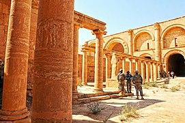 Crazy Troop Visit Ancient Ruins of Hatra 6