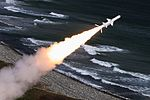Crews of the coastal missile system Bal of the Pacific Fleet perform training firings 04.jpg