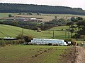 Crop spraying near Aireyholme Farm - geograph.org.uk - 587303.jpg
