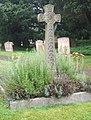 Cross in churchyard, near the porch - geograph.org.uk - 961972.jpg