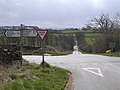 Crossroads on Lazonby to Plumpton Road - geograph.org.uk - 153828.jpg