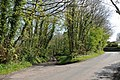 Crossways and the lane to St Brynach's Church - Cowbridge - geograph.org.uk - 1264124.jpg